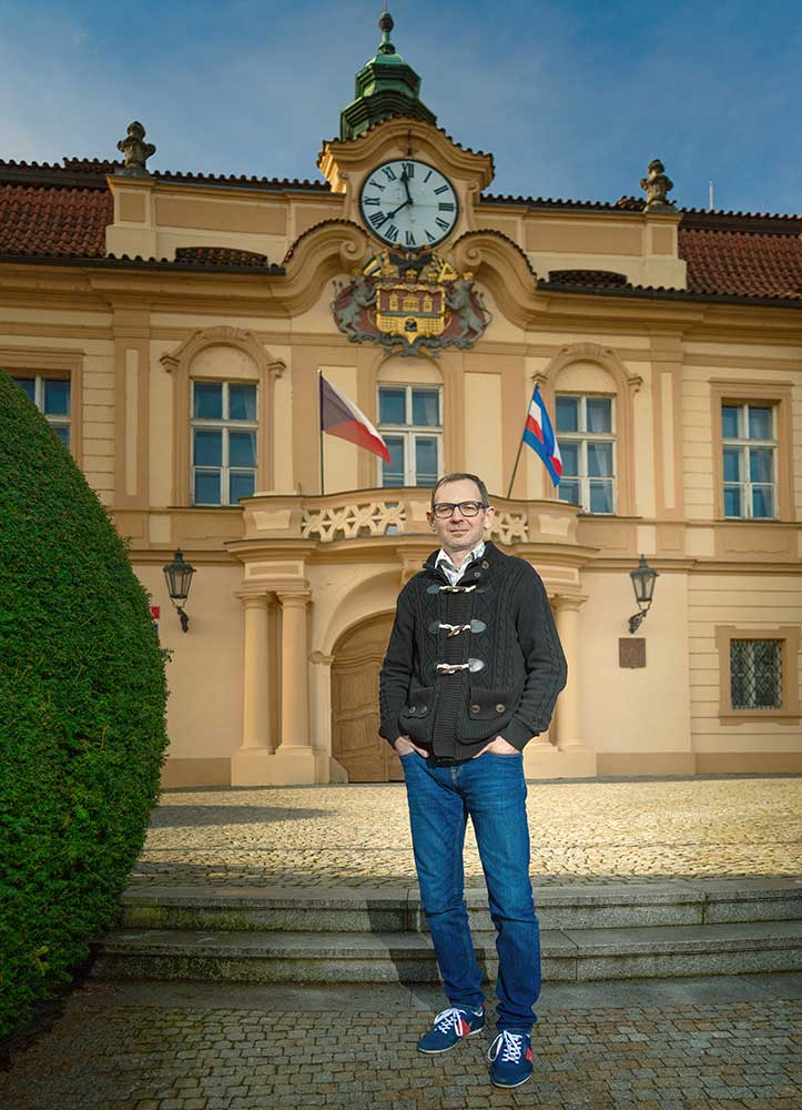 Ondřej Gros starosta Prahy 8