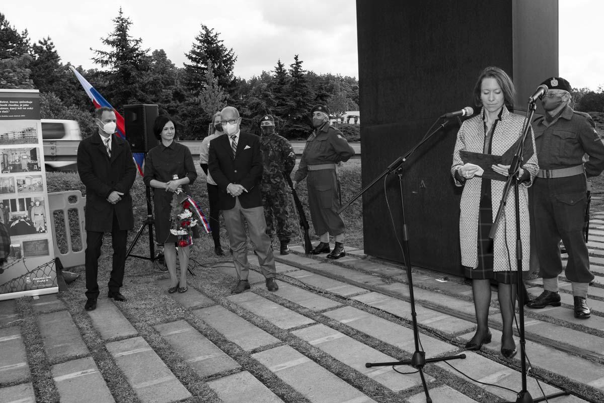 Anthropoid 2021 - Lucy Hughes, zástupkyně velvyslance UK v ČR