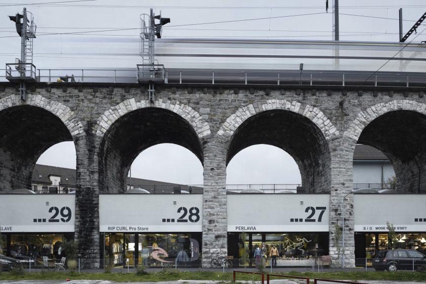 viadukt v Curychu